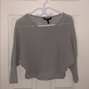 BCBG maxazria cropped sweater